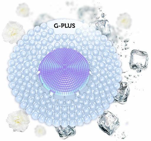 G-PLUS Ice Cool enzimköves piszoár rács