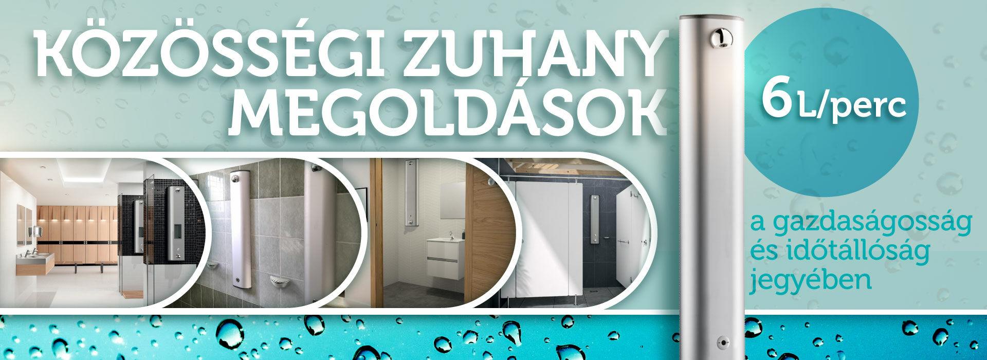 DELABIE zuhanyfalak, zuhanypanelek időtálló, gazdaságos üzemeltetéssel