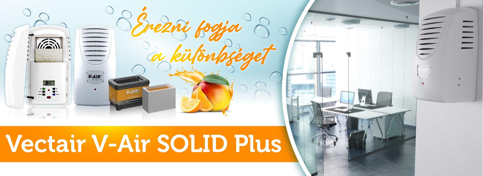 V-AIR SOLID Plus nagy belső terekhez tervezett elektromos illatosító