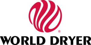 a World Dryer logója 1974-től