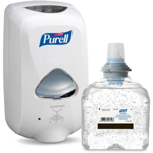 PURELL TFX Starter kezdőcsomag D1 - 1 db fehér adagoló + 1 db kézfertőtlenítő gél patron