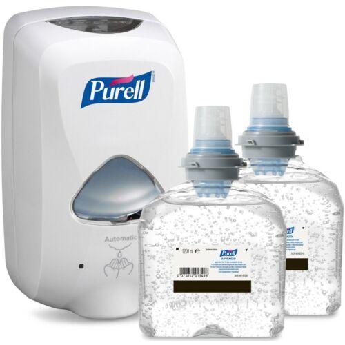 PURELL TFX Starter kezdőcsomag H1 - 1 db fehér adagoló + 2 db kézfertőtlenítő gél patron