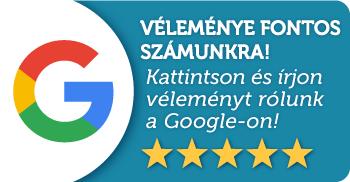 Értékeljen minket a Google-ön!